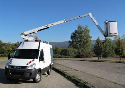 Pracovná plošina Versalift Everlift Slovakia