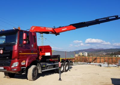 hydraulická ruka FASSI